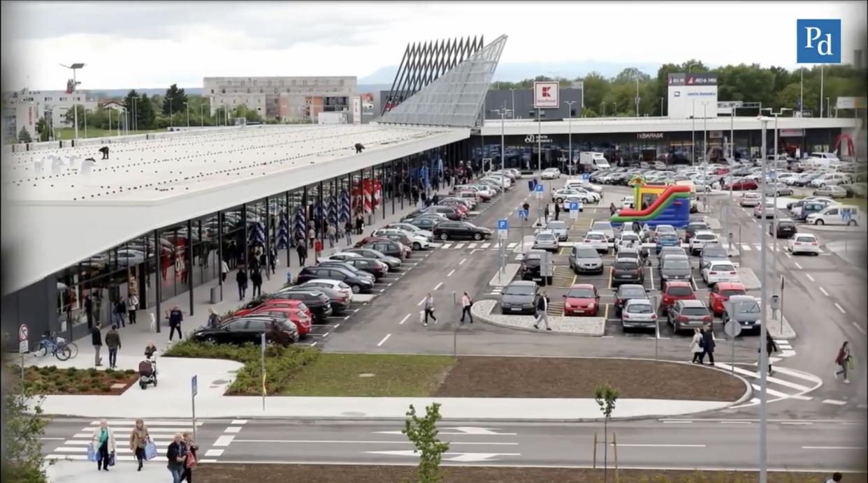 Nove Trgovine Danas Se Otvorio Arena Park U Sklopu Arena Centra